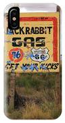 Route 66 - Jack Rabbit Trading Post IPhone Case