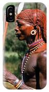 Samburu Warrior IPhone Case