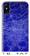 San Jose Street Map - San Jose Costa Rica Road Map Art On Colore IPhone Case