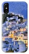Serifos Town During Dusk Time IPhone Case