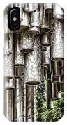 Sibelius Pipe Monument - Helsinki Finland IPhone Case
