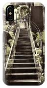 Staircase Leading To A Higher Level In Siloso Hotel In Sentosa IPhone Case