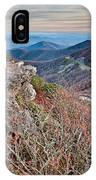 Sunset View Over Blue Ridge Mountains IPhone Case