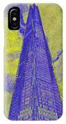 The Shard London Art IPhone Case