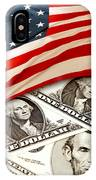 Usa Finance IPhone Case