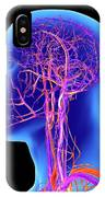 Vascular System Of The Head IPhone Case
