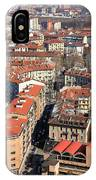 View Of Turin IPhone Case