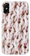 White Wool IPhone Case