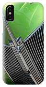 40 Ford - Grill Detail-8633 IPhone Case