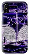 41 Lincoln In Neon IPhone Case