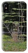 44- Alligator - Great Blue Heron IPhone Case