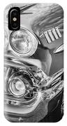 1958 Chevrolet Bel Air Impala Painted Bw  IPhone Case