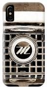 1959 Nash Metropolitan Grille Emblem IPhone Case