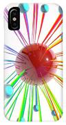 Abstract Artwork With Connected Spheres IPhone Case