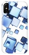Blue Cubes IPhone X Case