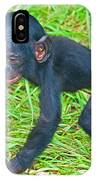 Bonobo Baby IPhone Case