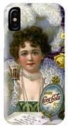 5 Cent Coca Cola - 1890 IPhone Case