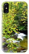 Cherry Falls Elk River IPhone Case