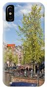 City Of Amsterdam Cityscape IPhone Case