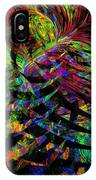 Colorful Psychedelic Abstract Fractal Art IPhone Case
