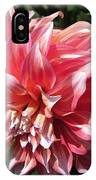 Dahlia Named Myrtle's Brandy IPhone Case