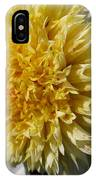 Dahlia Named Platinum Blonde IPhone Case