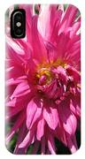 Dahlia Named Pretty In Pink IPhone Case