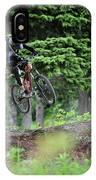 Extreme Biking In Alaska IPhone Case