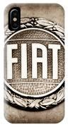 Fiat Emblem IPhone Case