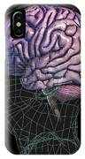 Healthy Brain, Mri Scan IPhone Case