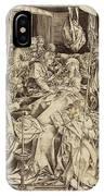 Israhel Van Meckenem German, C. 1445 - 1503 IPhone Case