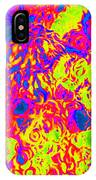 Modern Abstract Painting Original Canvas Art Ocean Life By Zee Clark IPhone Case