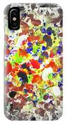 Modern Abstract Painting Original Canvas Art Twister By Zee Clark IPhone Case