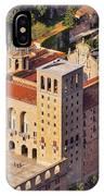 Monastery In Montserrat IPhone Case
