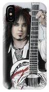 Nikki Sixx 4 IPhone Case