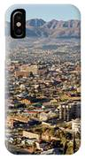 Panoramic View Of Skyline And Downtown IPhone Case
