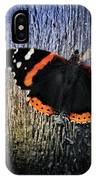 Phoenician Butterfly IPhone Case