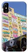 5 Pointz Graffiti Art 2 IPhone Case