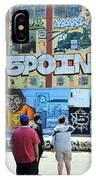 5 Pointz Graffiti Art 3 IPhone Case