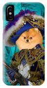 Pomeranian Art Canvas Print IPhone Case