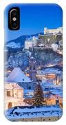 Salzburg In Winter IPhone Case