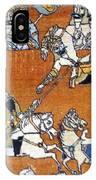 Shahnameh Ferdowsi Rostam And Sohrab Photos Of Persian Antique Rugs Kilims Carpets  IPhone Case
