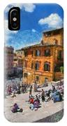 Spanish Steps At Piazza Di Spagna IPhone Case