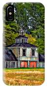5 Star Barn Paint Filter IPhone Case