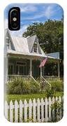 Sullivan's Island Tin Roof Story Book Cottage IPhone Case