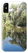 Swamp Reflection IPhone Case