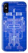 Tesla Electric Generator Patent 1894 - Blue IPhone Case