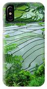 Unesco World Heritage Site, Rice IPhone Case