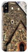 Uppsala Church - Gamia - Uppsala Sweden IPhone Case