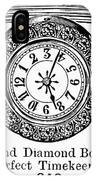 Watch Bracelet, 1891 IPhone Case